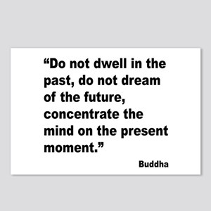 Buddha Present Moment Quote Postcards (Package of