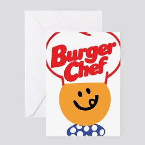 Burger Chef Greeting Card