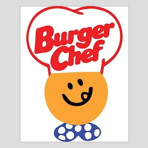 Burger Chef Small Poster