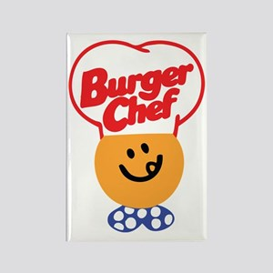 Burger Chef Rectangle Magnet