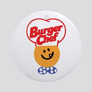 Burger Chef Ornament (Round)