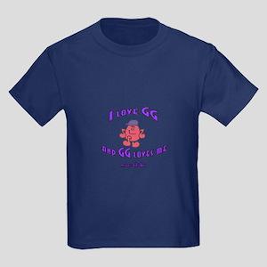 I LOVE GG BOY Kids Dark T-Shirt