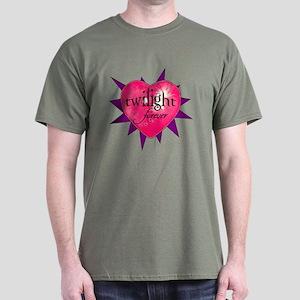twilight forever heart /purpl Dark T-Shirt