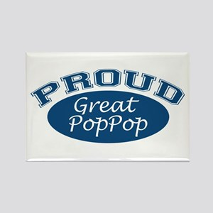 Proud Great PopPop Rectangle Magnet