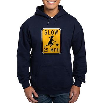 Slow 25 MPH Hoodie (dark)