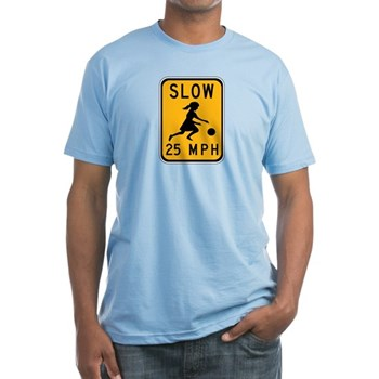 Slow 25 MPH Fitted T-Shirt