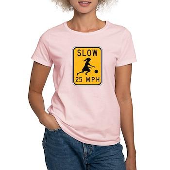 Slow 25 MPH Women's Light T-Shirt