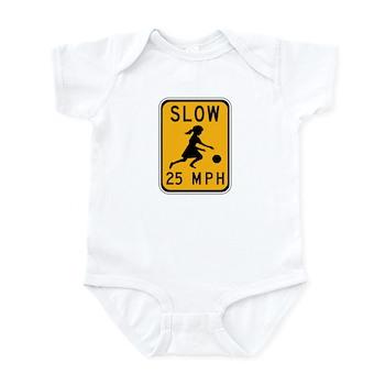 Slow 25 MPH Infant Bodysuit