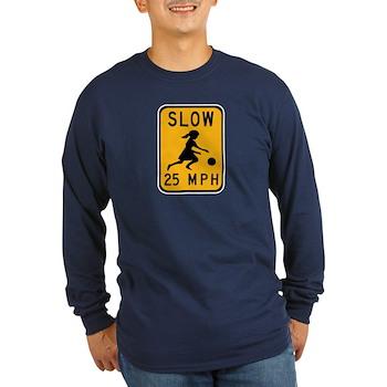 Slow 25 MPH Long Sleeve Dark T-Shirt