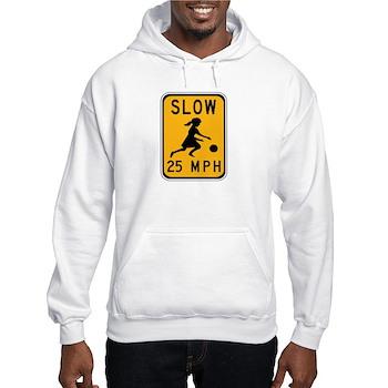 Slow 25 MPH Hooded Sweatshirt