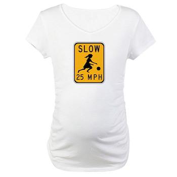Slow 25 MPH Maternity T-Shirt