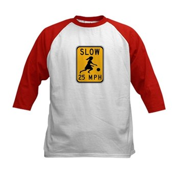 Slow 25 MPH Kids Baseball Jersey