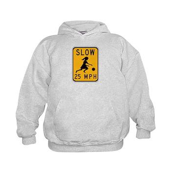 Slow 25 MPH Kids Hoodie