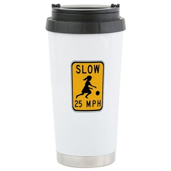 Slow 25 MPH Stainless Steel Travel Mug