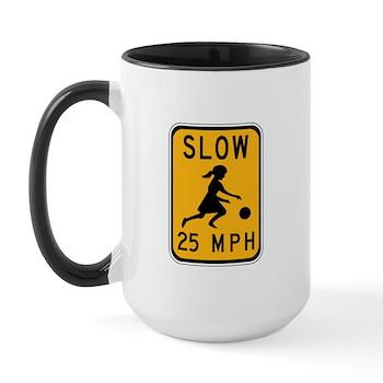 Slow 25 MPH Large Mug