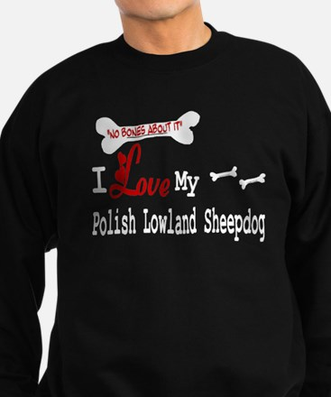 NB_Polish Lowland Sheepdog Sweatshirt (dark)