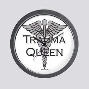 Trauma Queen, ER Nurse Wall Clock