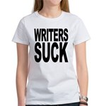 Writers Suck Women's T-Shirt