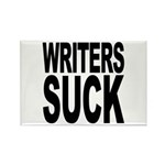 Writers Suck Rectangle Magnet (100 pack)