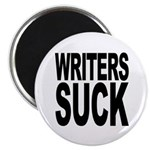Writers Suck Magnet