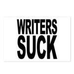 Writers Suck Postcards (Package of 8)