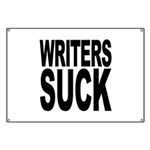 Writers Suck Banner