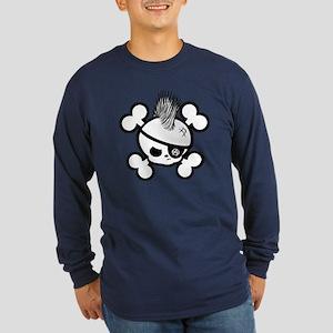Jimmy Roger Long Sleeve Dark T-Shirt