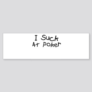 Poker Bumper Sticker
