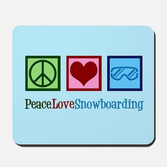 Cute Snowboarding Mousepad