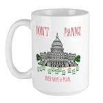 They Have a Plan Large Mug