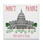 They Have a Plan Tile Coaster