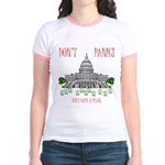 They Have a Plan Jr. Ringer T-Shirt