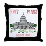 They Have a Plan Throw Pillow