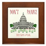 They Have a Plan Framed Tile