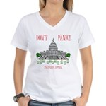 They Have a Plan Women's V-Neck T-Shirt