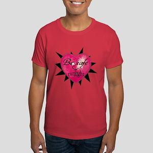 """""""Be safe"""" heart /blk Dark T-Shirt"""