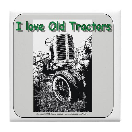 I love old Allis Chalmers Tile Coaster
