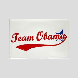 Team Obama Rectangle Magnet