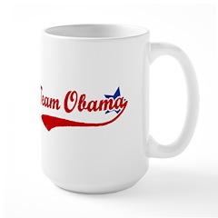 Team Obama Large Mug