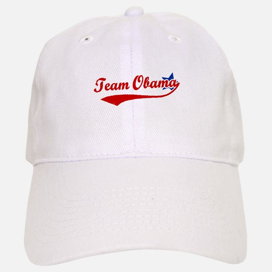 Team Obama Baseball Baseball Cap