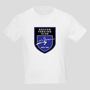 Boston Fencing Club Kids Light T-Shirt