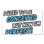 Perfect Princess Shirt Rectangle Sticker