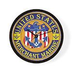 Merchant Marine Mason Wall Clock