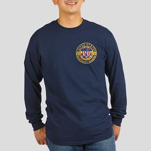 Merchant Marine Mason Long Sleeve Dark T-Shirt