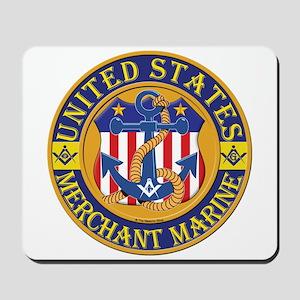 Merchant Marine Mason Mousepad