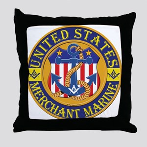 Merchant Marine Mason Throw Pillow