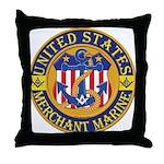 Merchant Marine Mason Throw Pillow