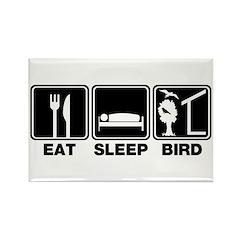 Eat Sleep Bird (v2) Rectangle Magnet
