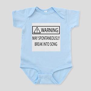 Spontaneous Singer BW Infant Bodysuit