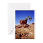 Balance: Devils Marble Greeting Cards (Pk of 20)